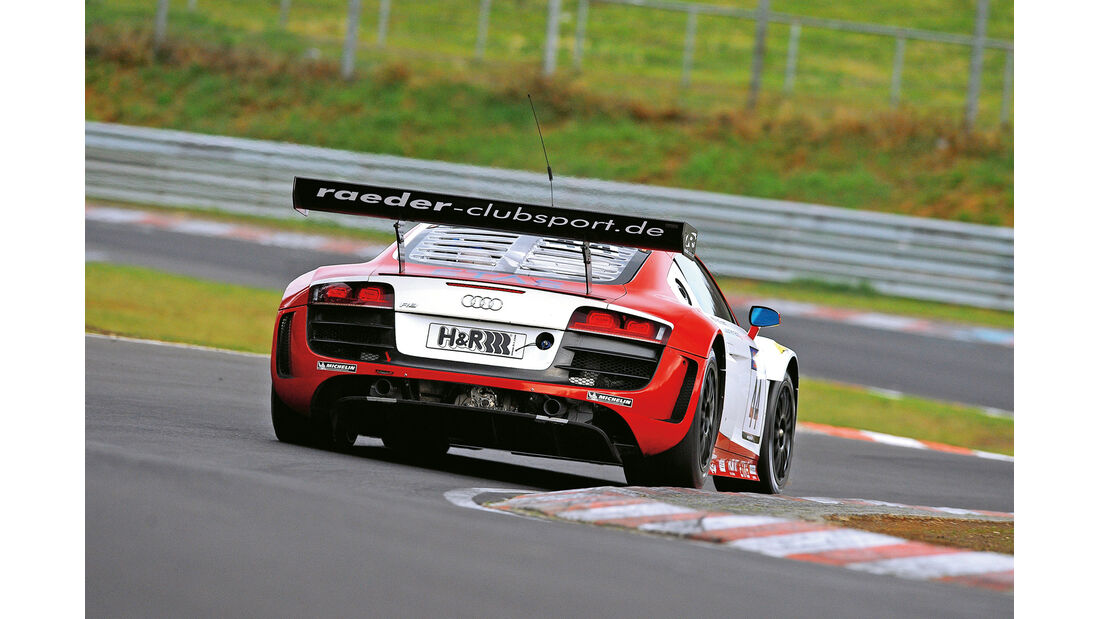 Audi R8 LMS Ultra, Heck