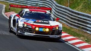 Audi R8 LMS Ultra - Phoenix Racing - Impressionen - 24h-Rennen Nürburgring 2014 - #4 - Qualifikation 1