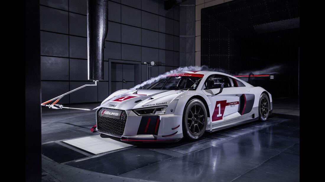 Audi R8 LMS - Windkanal - 2016