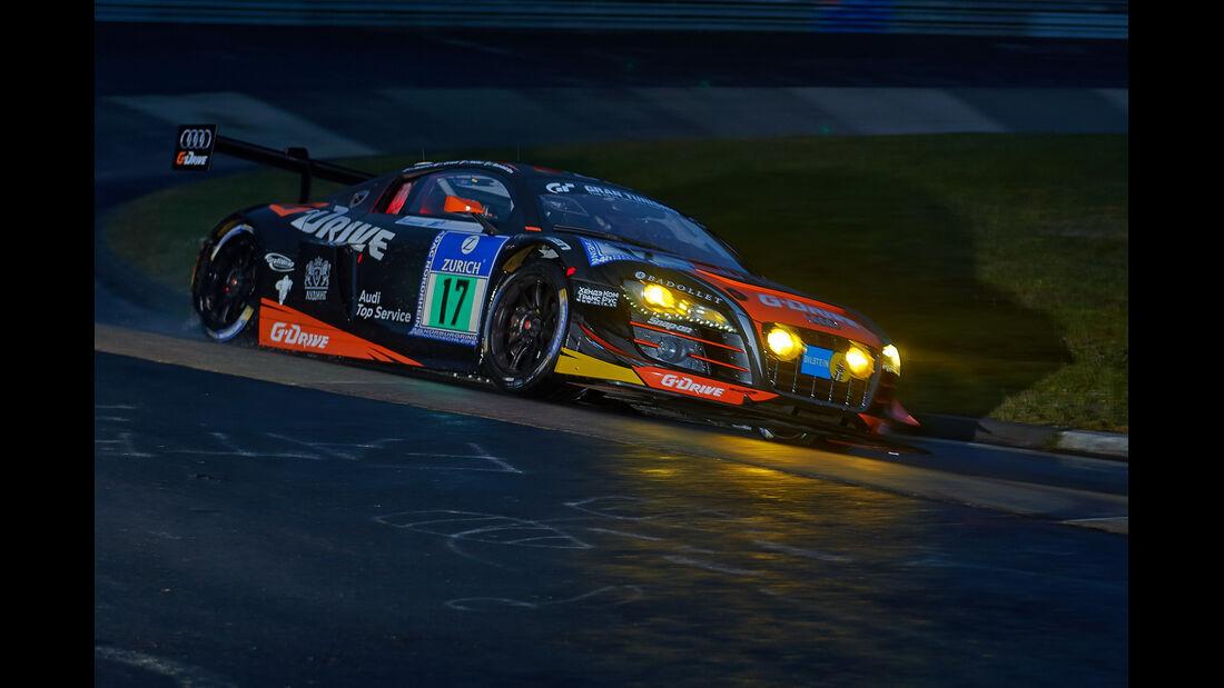 Audi R8 LMS ulta - G-Drive Racing - #17 - 24h-Rennen Nürburgring 2014 -  Qualifikation 1
