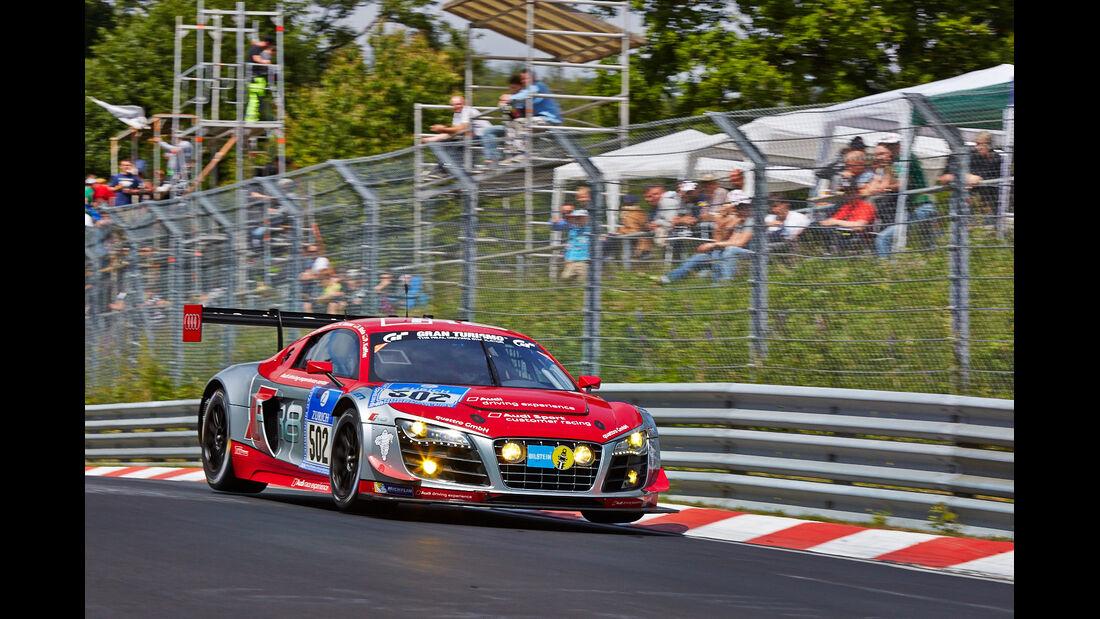 Audi R8 LMS ultra - Audi race experience - Impressionen - 24h-Rennen Nürburgring 2014 - #502 - Qualifikation 1