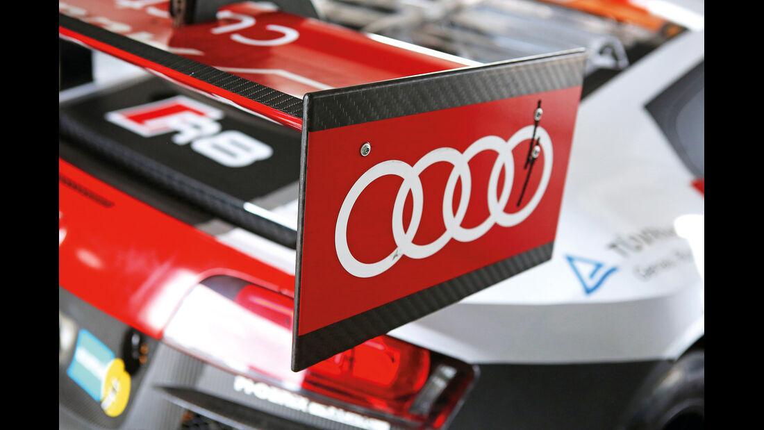 Audi R8 LMS ultra, Heckflügel