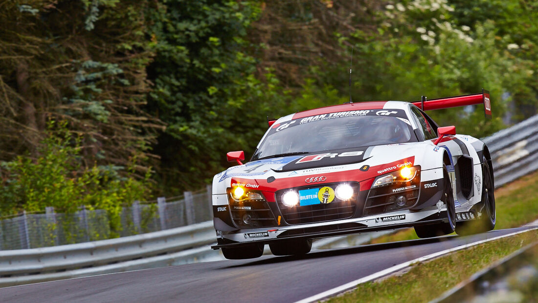 Audi R8 LMS ultra - Phoenix Racing - 24h-Rennen Nürburgring 2014 - Top-30-Qualifying