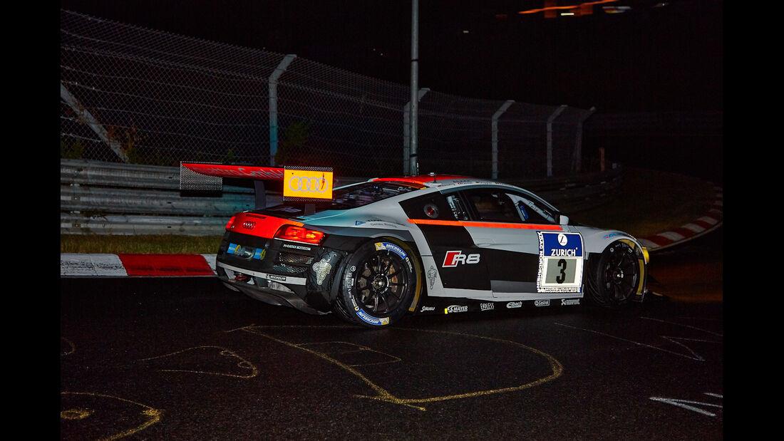 Audi R8 LMS ultra - Phoenix Racing - #3 - 24h-Rennen Nürburgring 2014 - Qualifikation 1