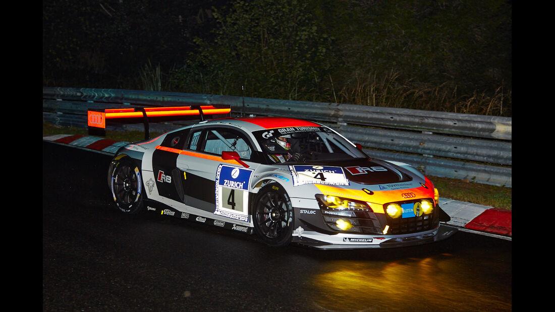 Audi R8 LMS ultra - Phoenix Racing - #4 - 24h-Rennen Nürburgring 2014 - Qualifikation 1