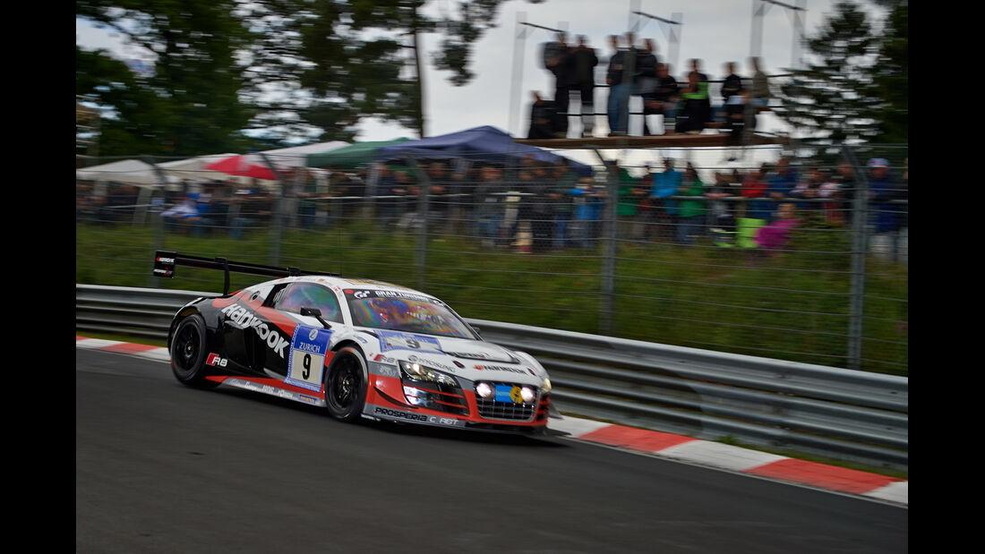 Audi R8 LMS ultra - Prosperia C.Abt Racing - 24h-Rennen Nürburgring 2014 - Top-30-Qualifying