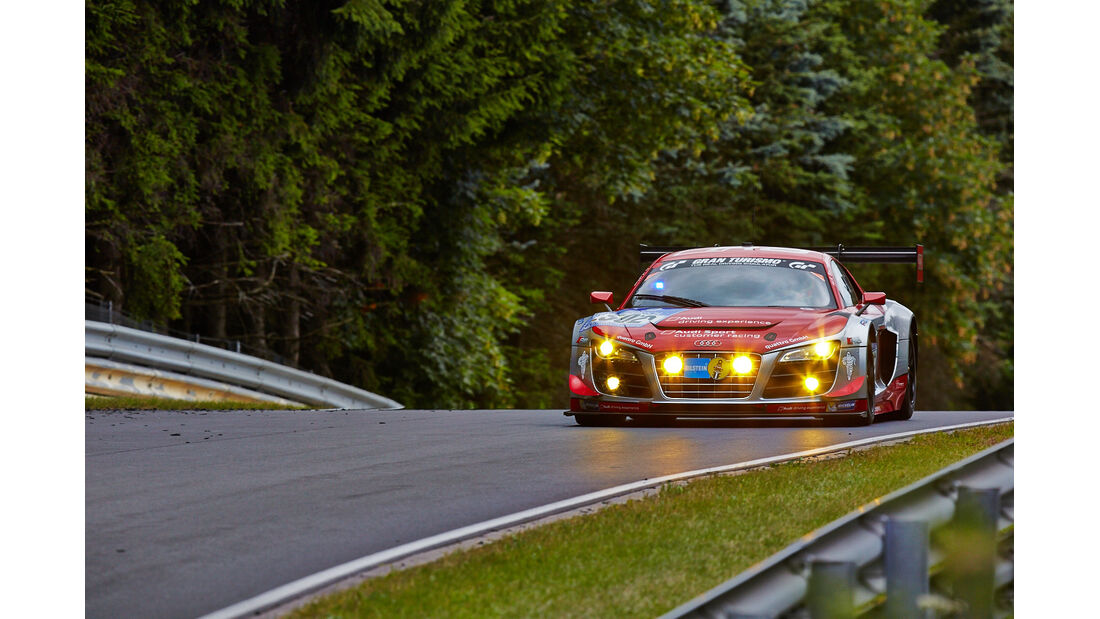 Audi R8 LMS ultra - Racing Experience - 24h-Rennen Nürburgring 2014 - Top-30-Qualifying