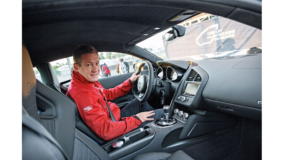 Audi R8 LMX, Cockpit