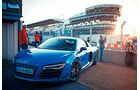 Audi R8 LMX, Frontansicht