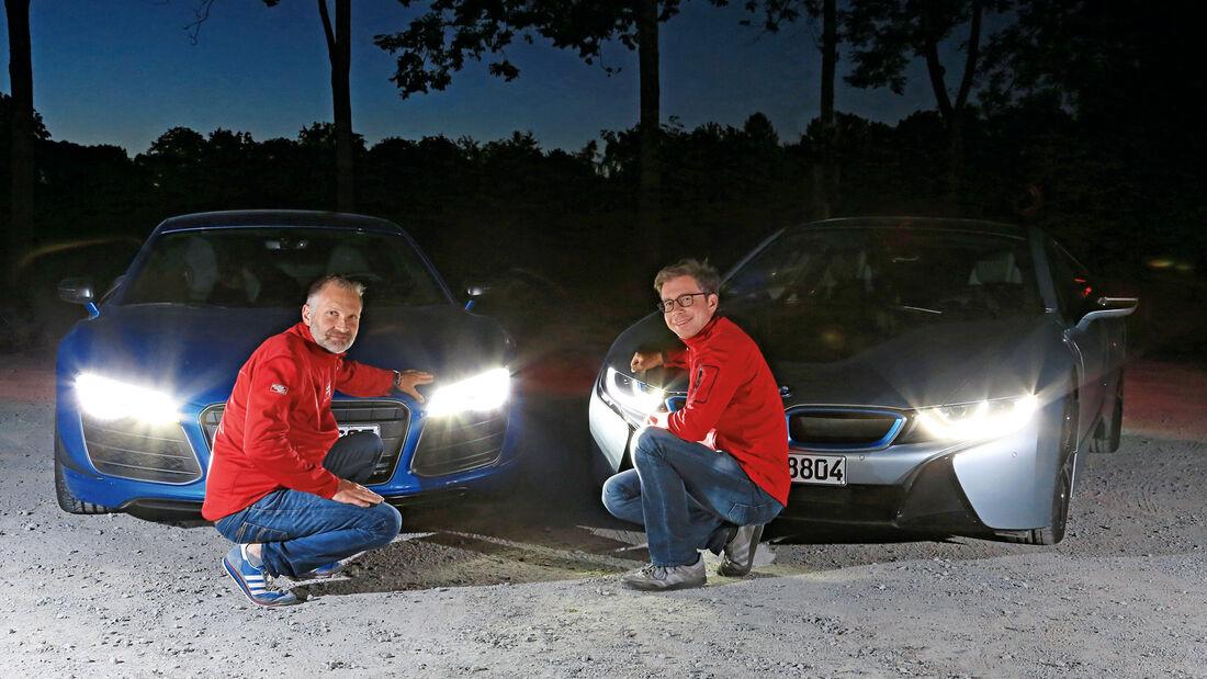 Audi R8 LMX, Laserlicht, BMW i8