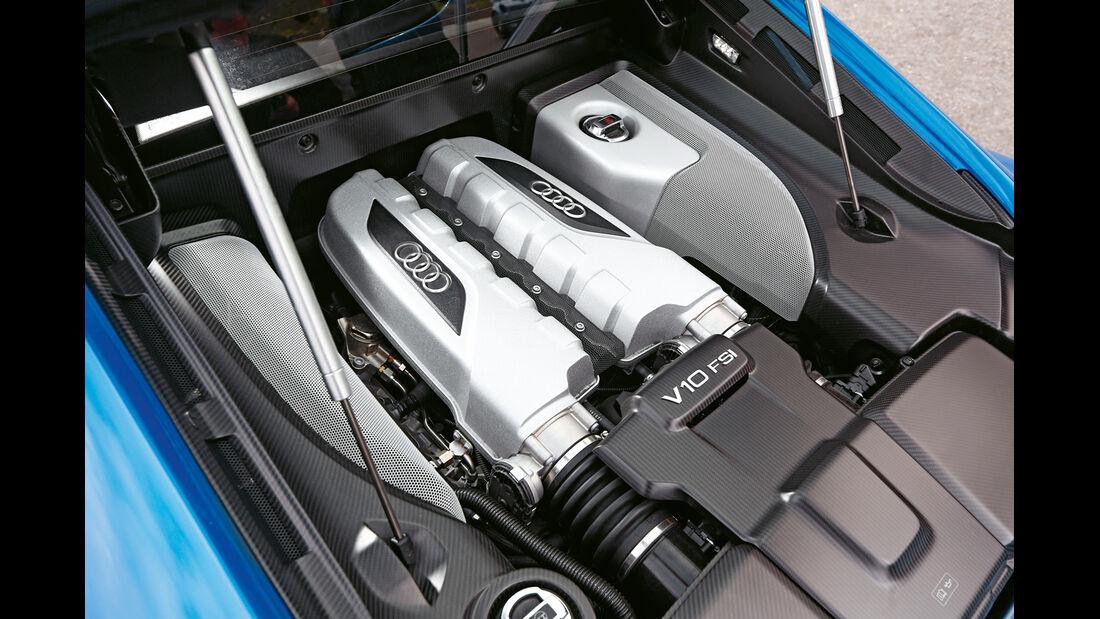 Audi R8 LMX, Motor