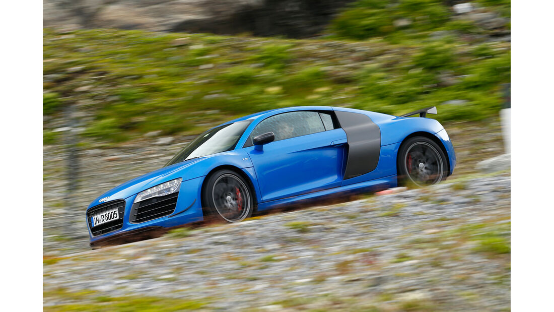 Audi R8 LMX, Seitenansicht
