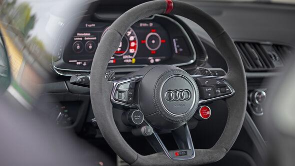 Audi R8 Performance, Interieur