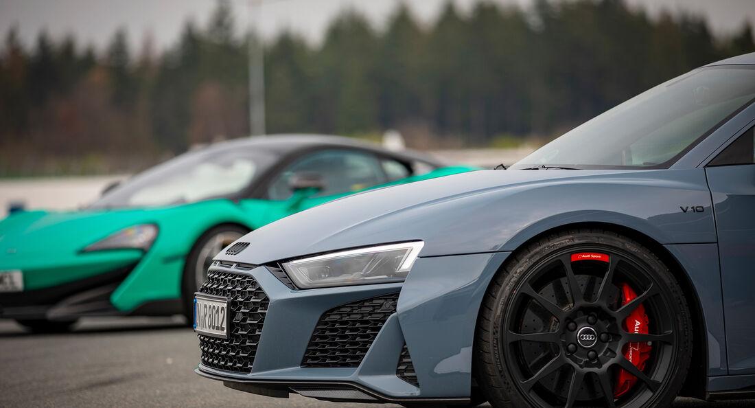 Audi R8 Performance, McLaren 600LT, Exterieur