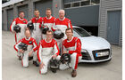 Audi R8, Renndress, Crew