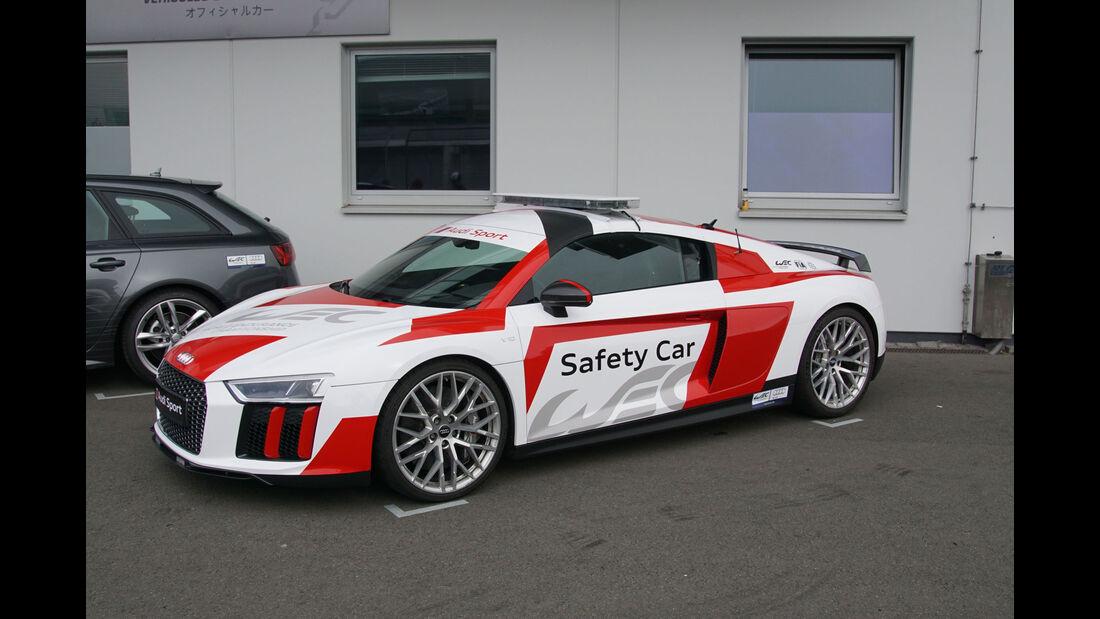 Audi R8 - Safety Car - WEC - Nürburgring - 6-Stunden-Rennen - Sonntag - 24.7.2016