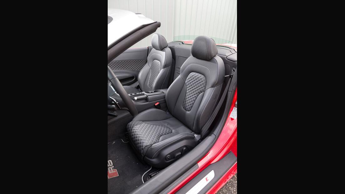 Audi R8 Spyder 5.2 FSI Quattro, Fahrersitz