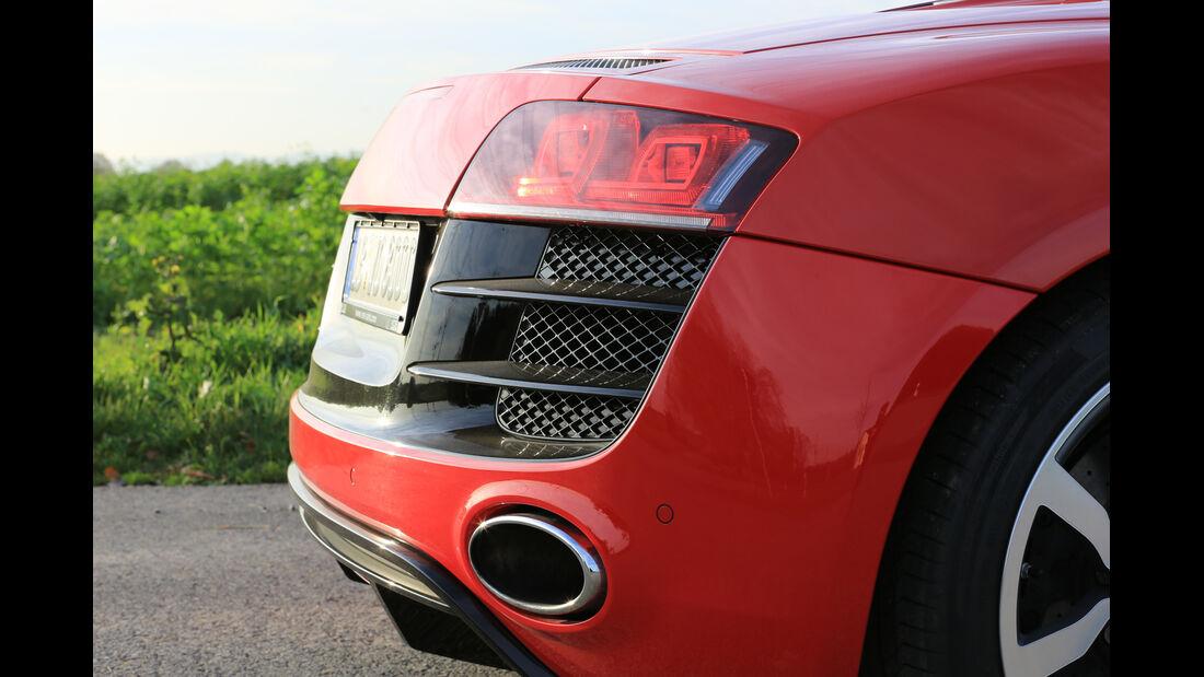 Audi R8 Spyder 5.2 FSI Quattro, Heckleuchte