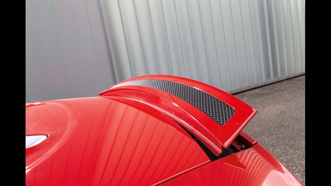 Audi R8 Spyder 5.2 FSI Quattro, Heckspoiler
