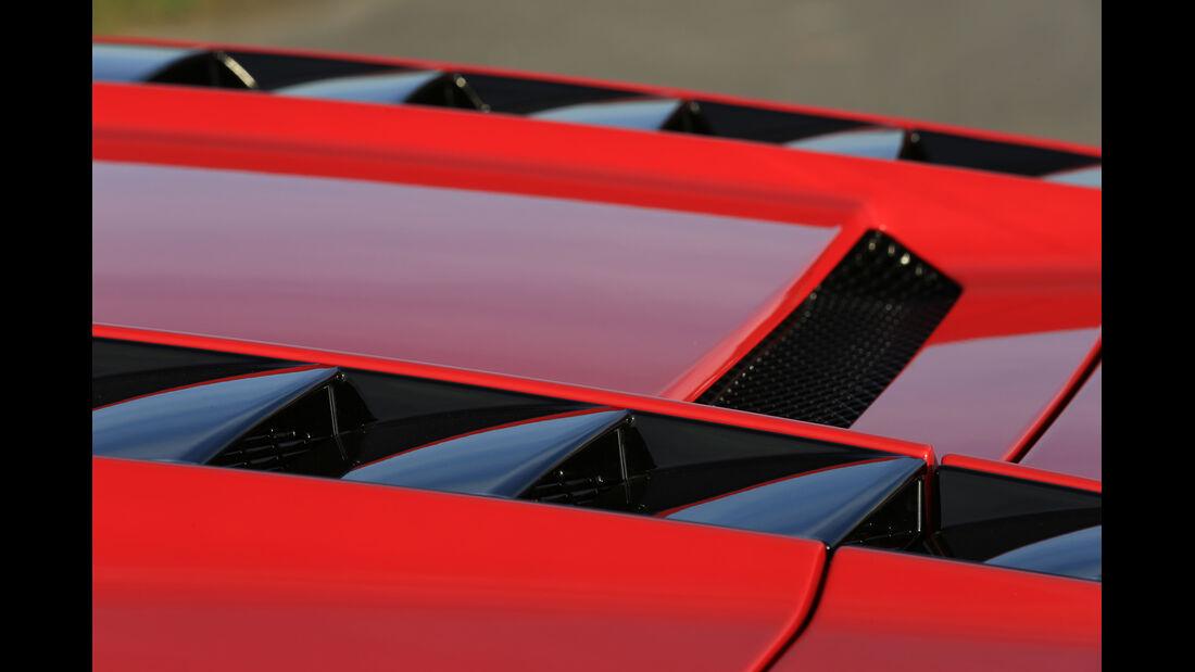 Audi R8 Spyder 5.2 FSI Quattro, Motorabdeckung