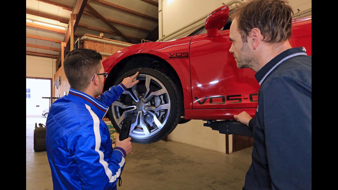 Audi R8 Spyder 5.2 FSI Quattro, Rad, Felge