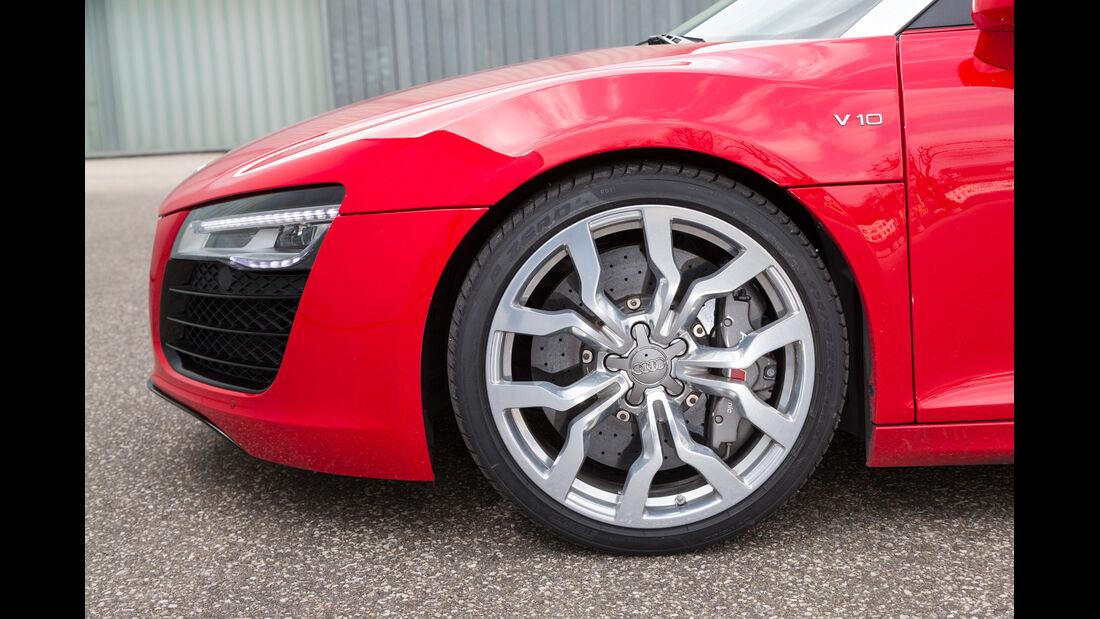 Audi R8 Spyder 5.2 FSI Quattro, Rad, Felge, Bremse