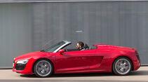 Audi R8 Spyder 5.2 FSI Quattro, Seitenansicht
