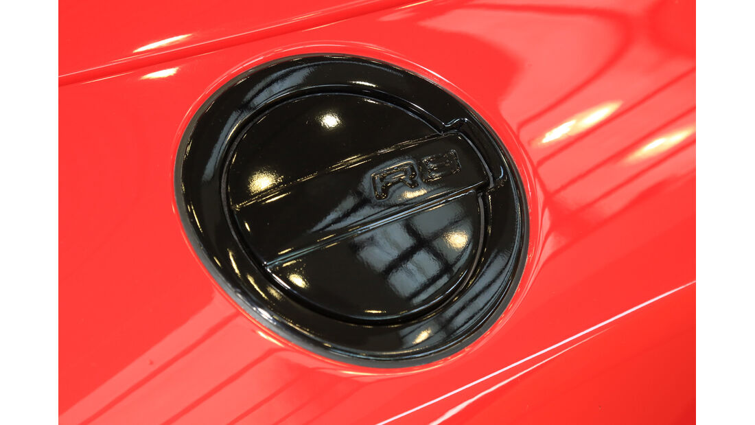 Audi R8 Spyder 5.2 FSI Quattro, Tankdeckel