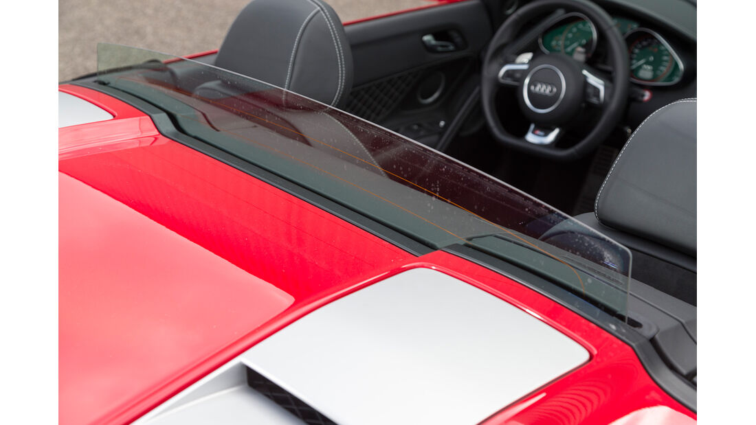 Audi R8 Spyder 5.2 FSI Quattro, Windschott