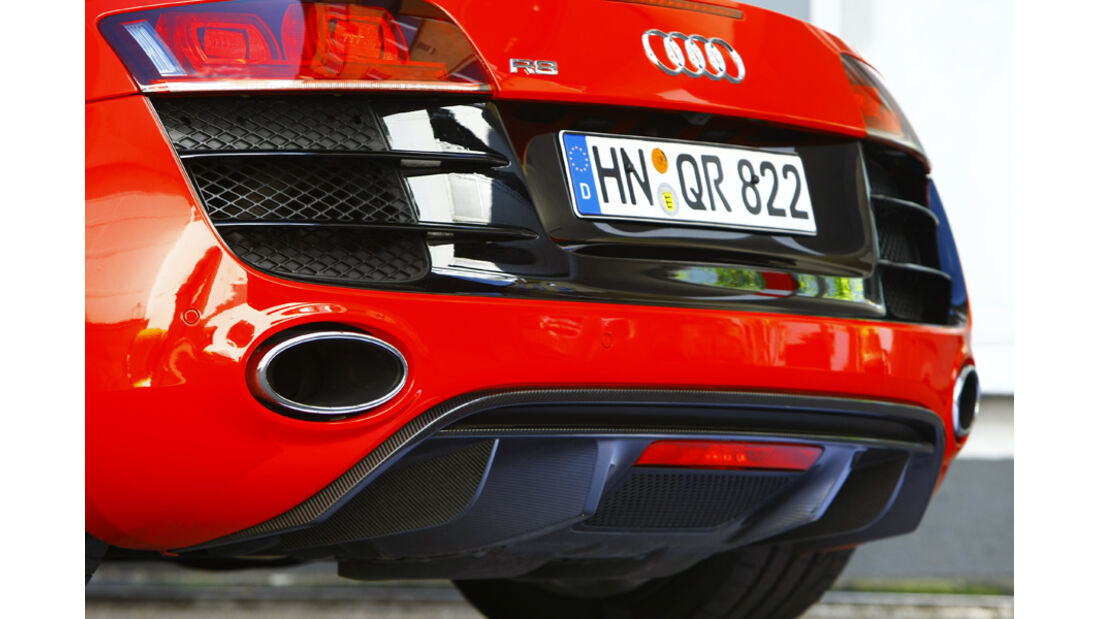 Audi R8 Spyder 5.2 FSI quattro Auspuff