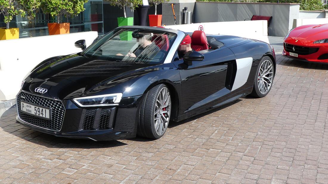 Audi R8 Spyder - Carspotting - GP Abu Dhabi 2019