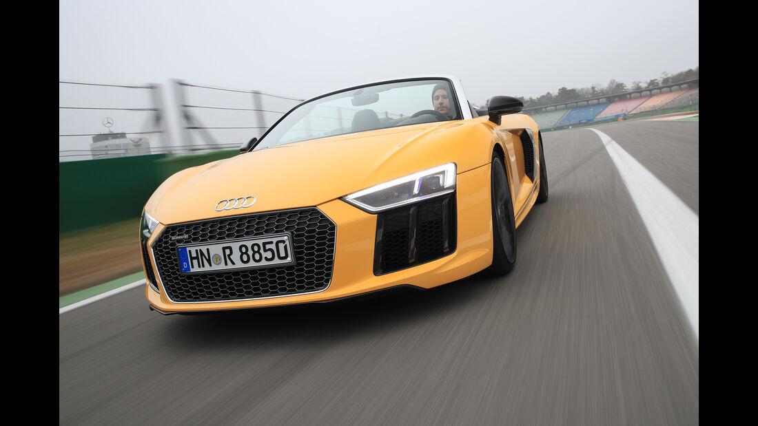 Audi R8 Spyder, Frontansicht