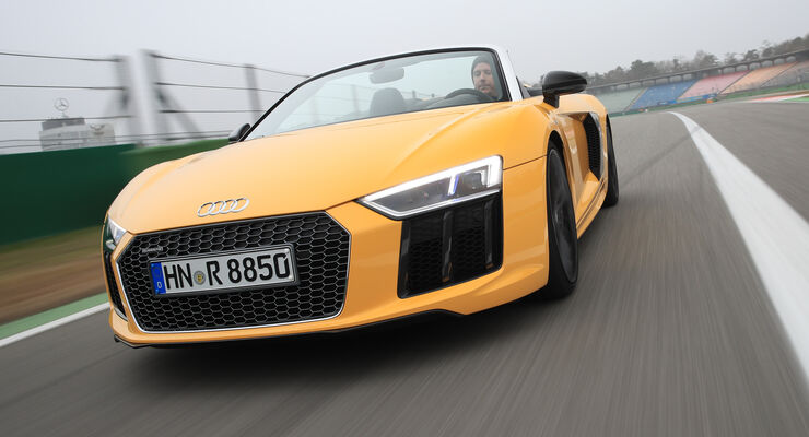 audi r8 spyder im test auto motor und sport. Black Bedroom Furniture Sets. Home Design Ideas