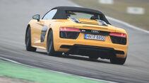 Audi R8 Spyder, Heckansicht