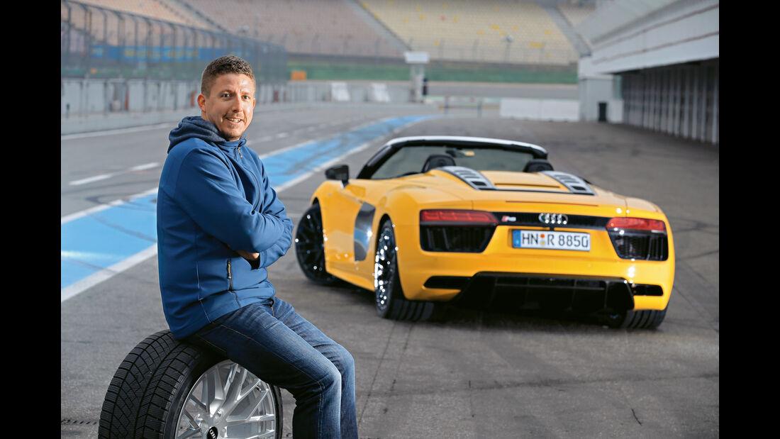 Audi R8 Spyder, Jans Dralle