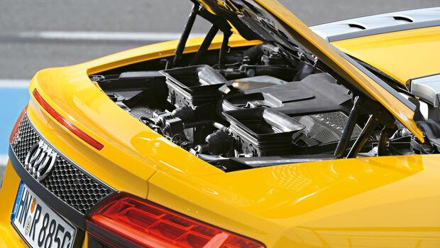 Audi R8 Spyder, Motor