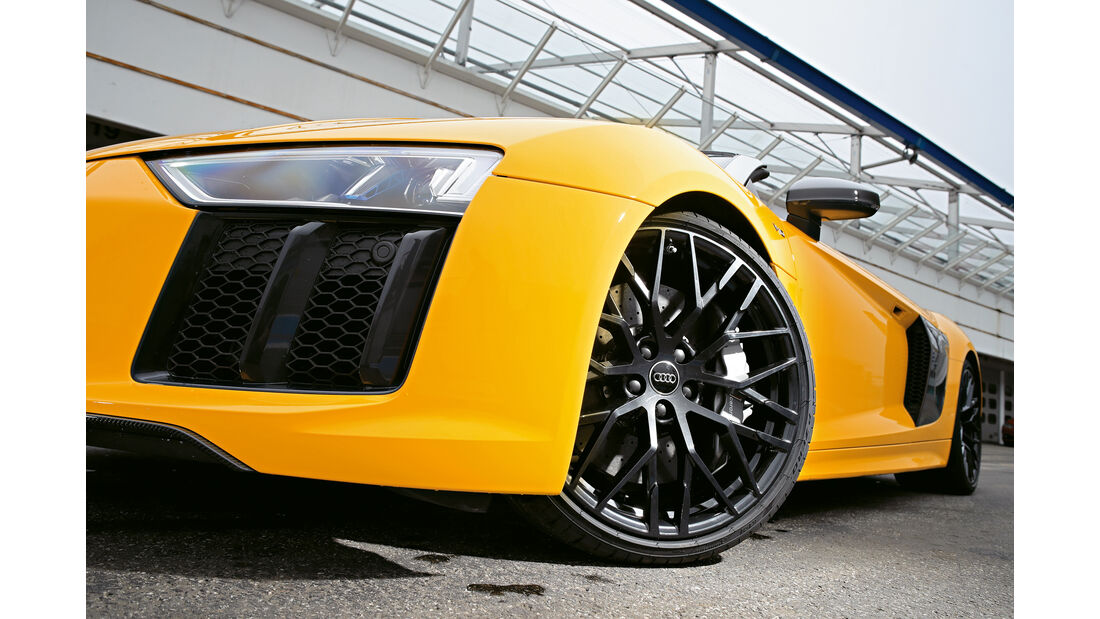 Audi R8 Spyder, Rad, Felge