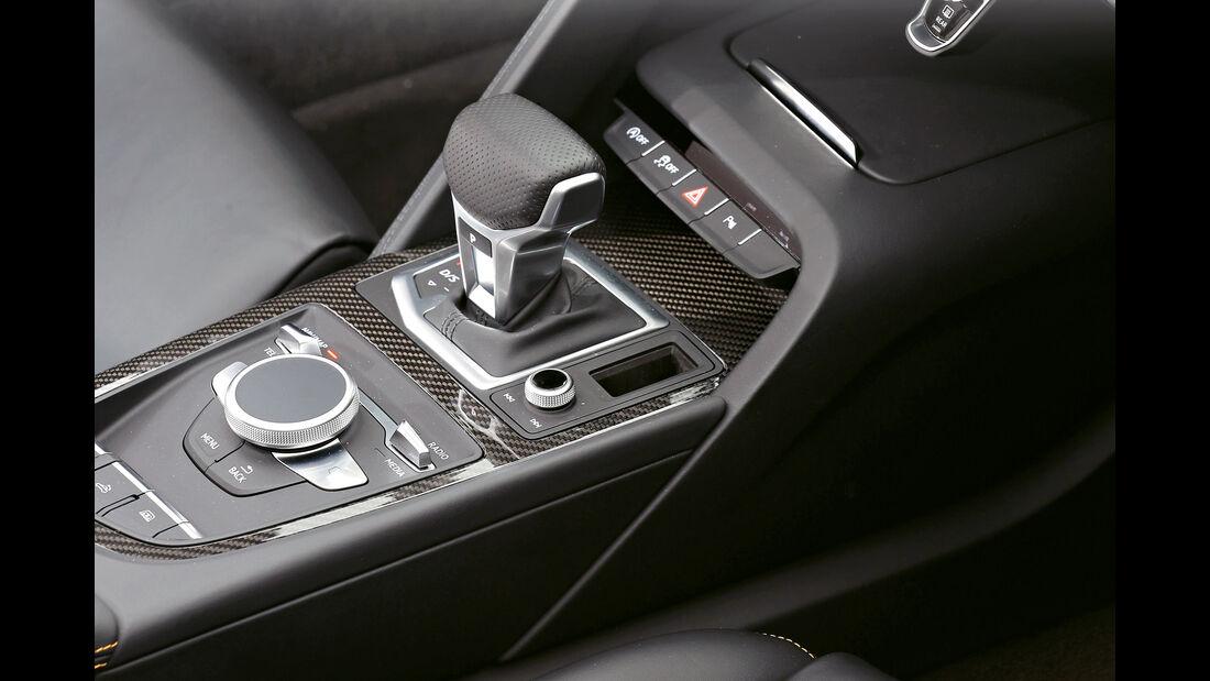 Audi R8 Spyder, Schalthebel