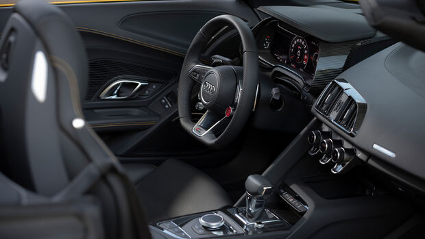 Audi R8 Spyder V10 Performance, Interieur