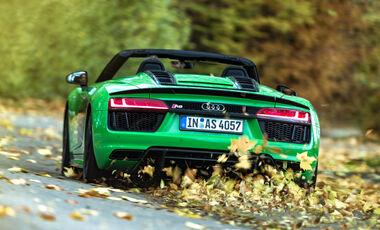 Audi R8 Spyder V10 Plus, Exterieur
