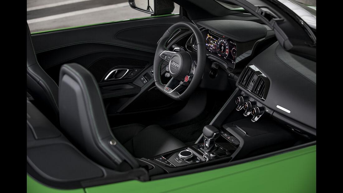 Audi R8 Spyder V10 Plus, Interieur