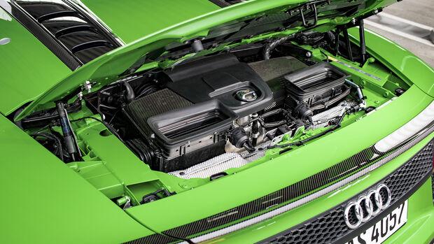 Audi R8 Spyder V10 Plus, Motor