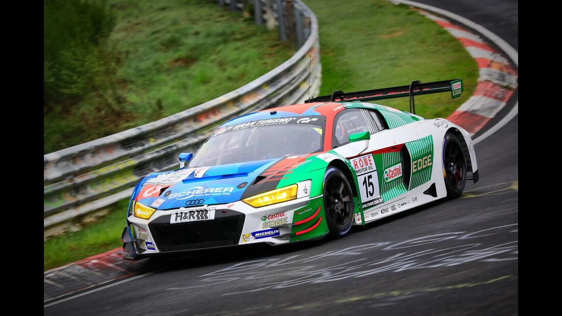 Audi R8 - Startnummer #15 - Audi Sport Team Phoenix - SP9 Pro - VLN 2019 - Langstreckenmeisterschaft - Nürburgring - Nordschleife