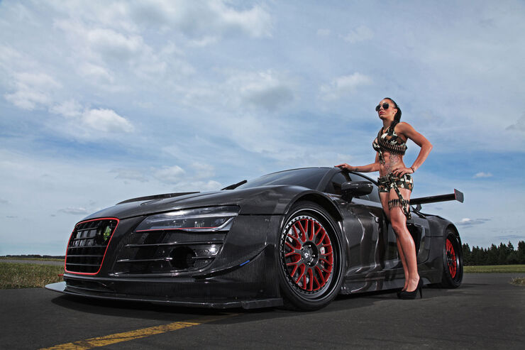 Audi R8 - Tuning - Recon MC8 - mcchip-dkr - Potter & Rich