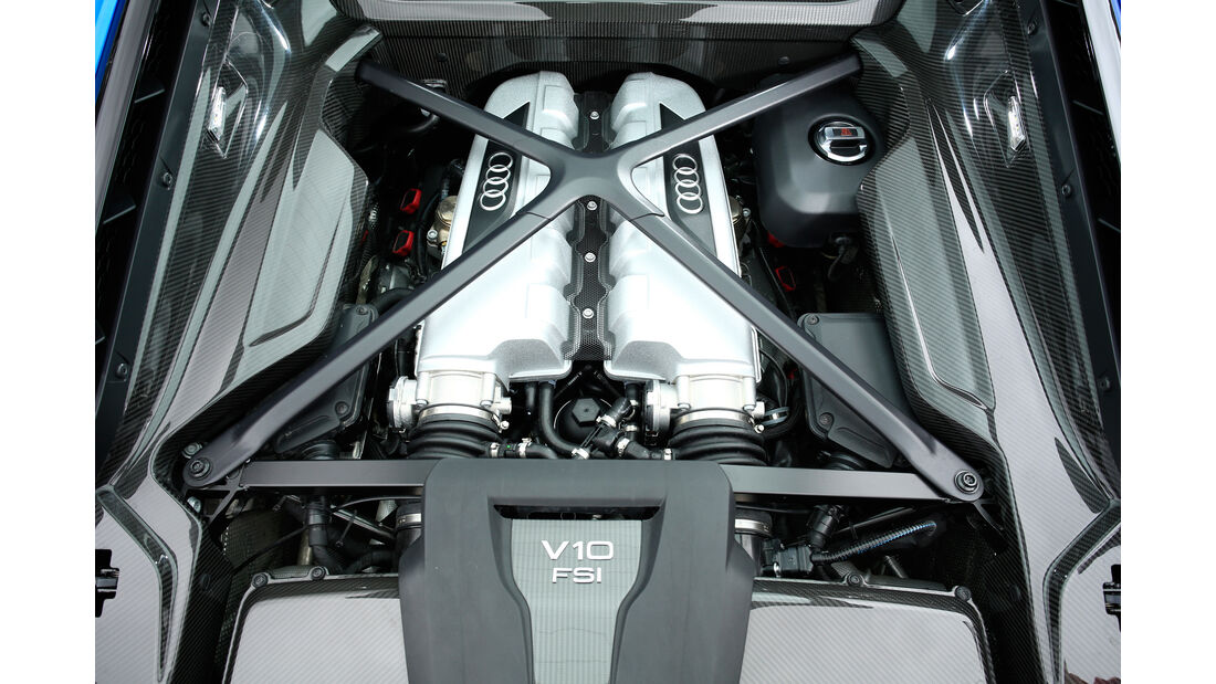 Audi R8 V10, Audi R8 5.2 FSI Quattro, Motor