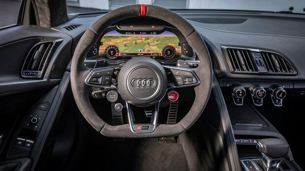 Audi R8 V10 Performance, Cockpit