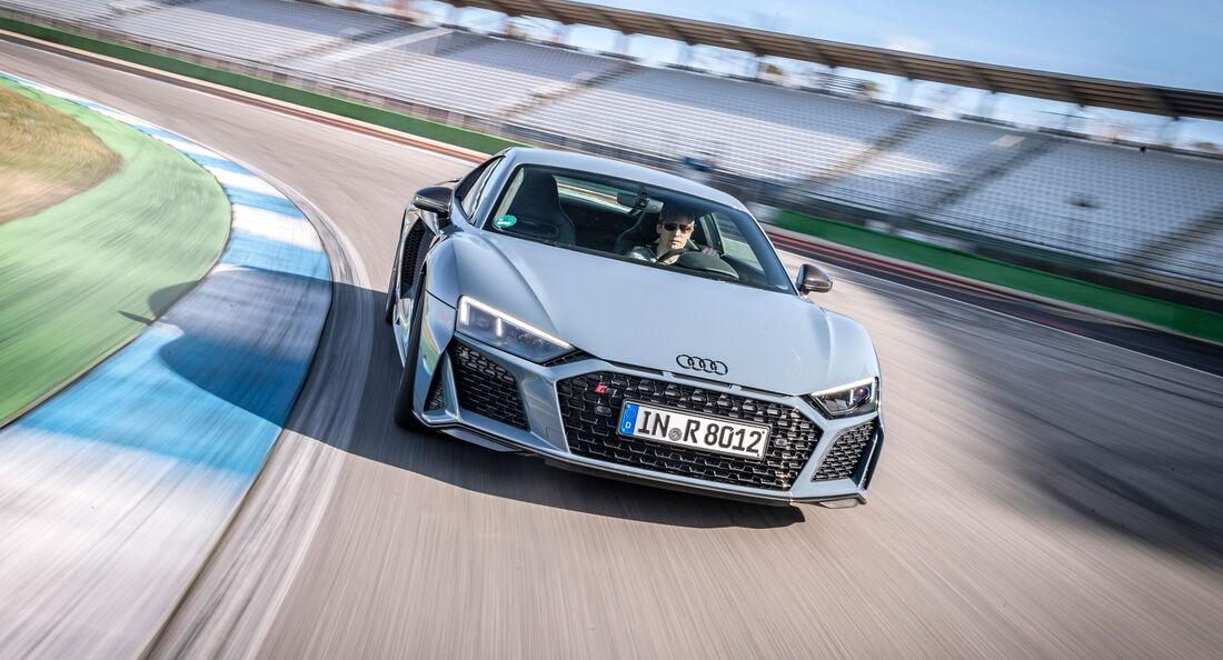 Audi R8 V10 Performance, Front, Hockenheim