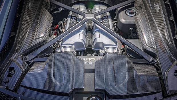 Audi R8 V10 Performance, Motor