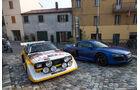 Audi R8 V10 Plus, Audi S1, Frontansicht