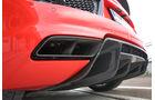 Audi R8 V10 Plus, Auspuff, Endrohre